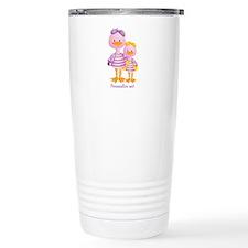 Big Sis Little Sis Ducks - Personlalize Travel Mug