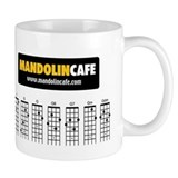 Mandolin Cafe 21-Chord Small Mug