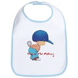 Cool Cute baseball Bib