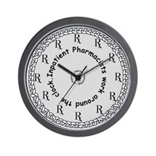 Inpatient Pharmacists Wall Clock