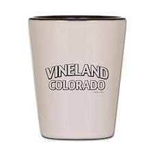 Vineland Colorado Shot Glass