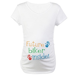 Biker Maternity T-Shirt