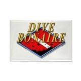 Dive Bonaire Rectangle Magnet