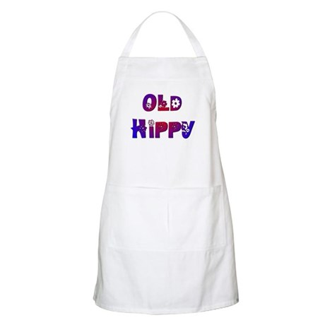 Old Hippy BBQ Apron