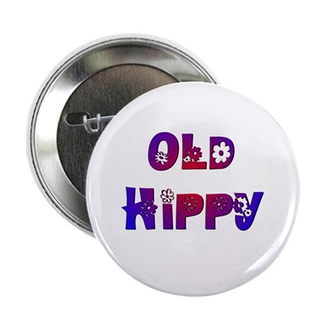 "Old Hippy 2.25"" Button (10 pack)"