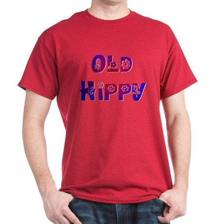 Old Hippy Dark T-Shirt
