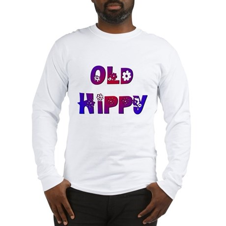 Old Hippy Long Sleeve T-Shirt