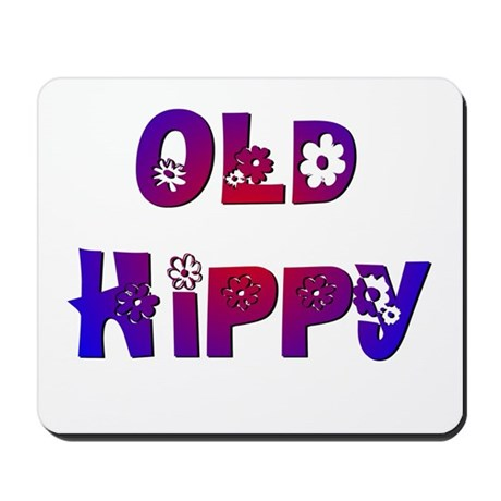 Old Hippy Mousepad