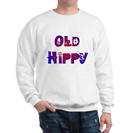 Old Hippy Sweatshirt