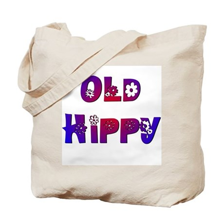 Old Hippy Tote Bag