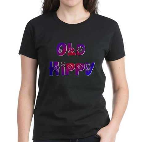 Old Hippy Women's Dark T-Shirt