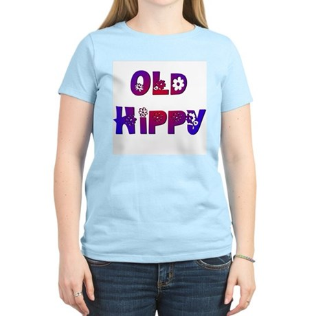 Old Hippy Women's Pink T-Shirt