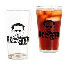 Hoffa Lives Forever Drinking Glass