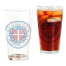 Vintage Oklahoma City Drinking Glass