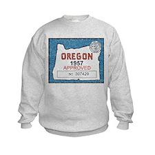 Vintage Oregon Registration Sweatshirt