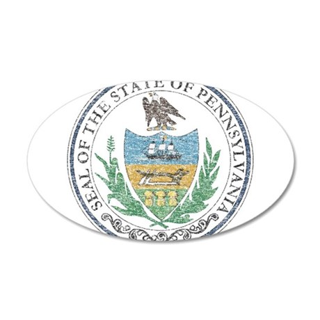 Vintage Pennsylvania Seal Wall Decal