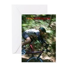 ncbiking.com Greeting Cards (Package of