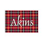 Tartan - Akins Rectangle Magnet (10 pack)