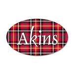 Tartan - Akins 35x21 Oval Wall Decal