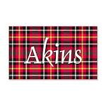 Tartan - Akins 20x12 Wall Decal