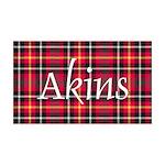 Tartan - Akins 35x21 Wall Decal
