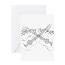 Rhode Island Guitars Greeting Card