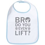 Do you even lift Cotton Bibs