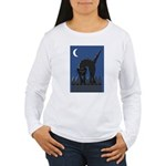 Black Cat Women's Long Sleeve T-Shirt