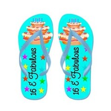 FASHIONABLE 16TH Flip Flops