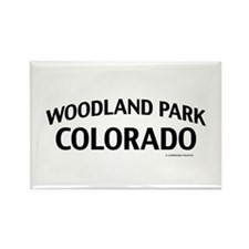 Woodland Park Colorado Rectangle Magnet