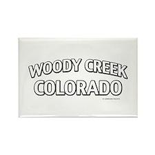 Woody Creek Colorado Rectangle Magnet