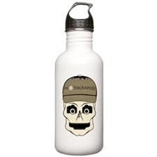 CANDY SKULL-PHOTOGRAPHER-3-2 Water Bottle