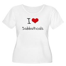 I Love Sabbaticals Plus Size T-Shirt