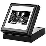Cat Duet Keepsake Box