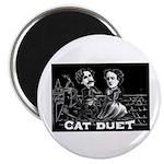 Cat Duet Magnet