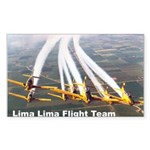 Lima Lima Head On Sticker