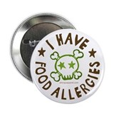 "I have food allergies sidcom.png 2.25"" Button"