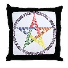RC Pentacle Throw Pillow