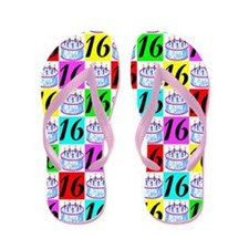 CELEBRATE 16 Flip Flops