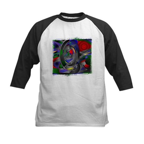 Abstract 002a Kids Baseball Jersey