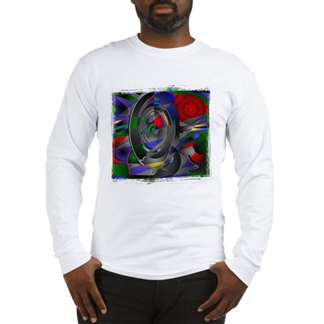 Abstract 002a Long Sleeve T-Shirt
