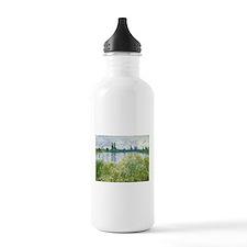 Claude Monet - Banks of the Seine Water Bottle