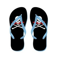 Jolly Roger (Cutlass) Flip Flops
