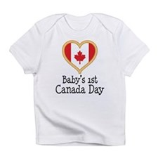 Babys 1st Canada Day Infant T-Shirt