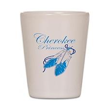 Turquoise Cherokee Princess Shot Glass