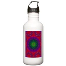 3D Kaliedescope Sports Water Bottle
