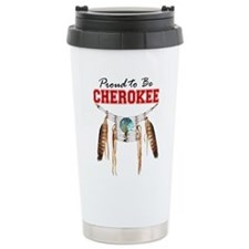Proud to be Cherokee Ceramic Travel Mug