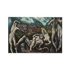 El Greco - Laocoon Rectangle Magnet