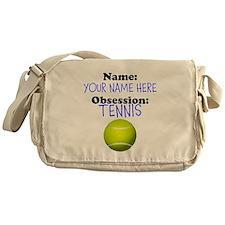 Custom Tennis Obsession Messenger Bag