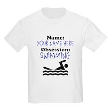 Custom Swimming Obsession T-Shirt